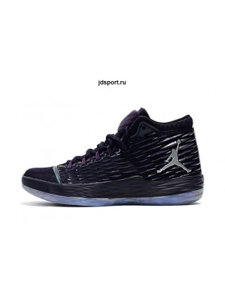 Air Jordan Melo M13 (Purple Dynasty/Metallic Silver)