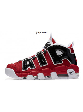 "Nike Air More Uptempo ""Chicago Bulls"" (Red/White/Black)"