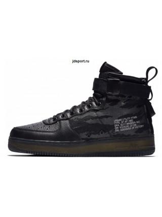 Nike SF Air Force 1 Mid (Camo Black)