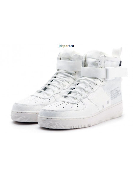 Nike SF Air Force 1 Mid (White)