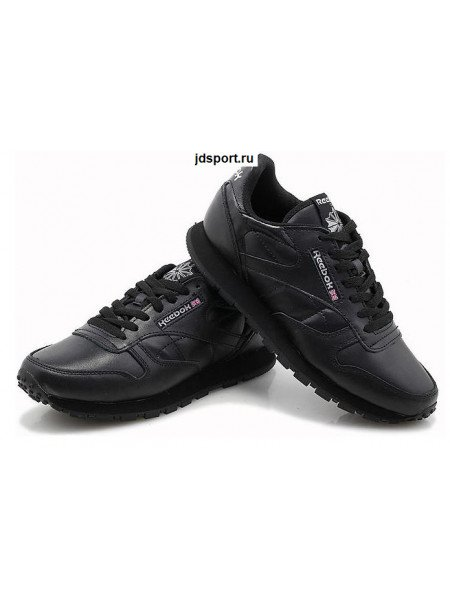 Reebok Classic Leather (Black)