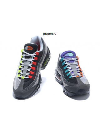 "Nike Air Max 95 ""Greedy"" (Grey/Black/Orange/Volt)"