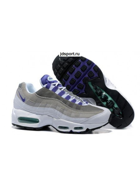 Nike Air Max 95 (White/grey/purple)