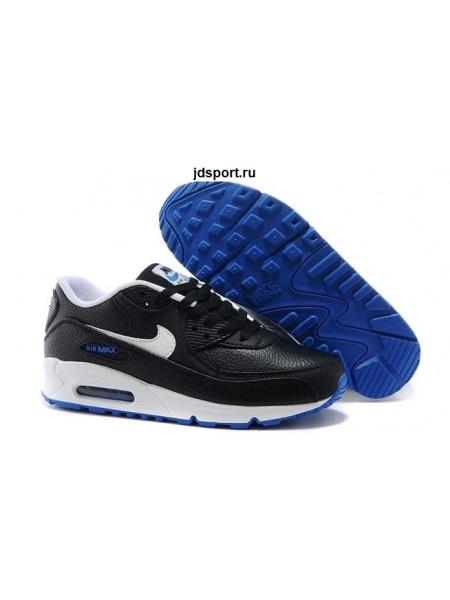 Nike Air Max 90 LTR (Black/White/Blue)