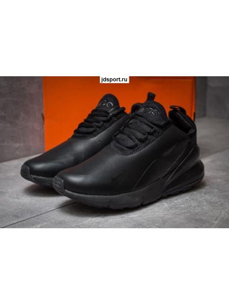 Nike Air Max 270 Black Кожаные