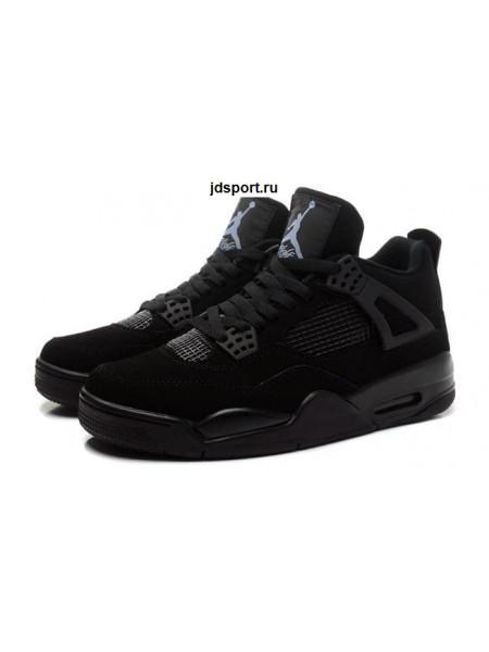 "Nike Air Jordan 4 Retro ""Black Cat"" (black)"