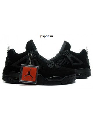 "Nike Air Jordan 4 Retro ""Black Cat"" (black)"
