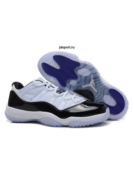 "Air Jordan 11 Retro ""Concord"" Low (black/white)"
