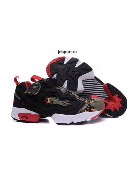 Reebok Insta Pump Fury (Black/White/Red)