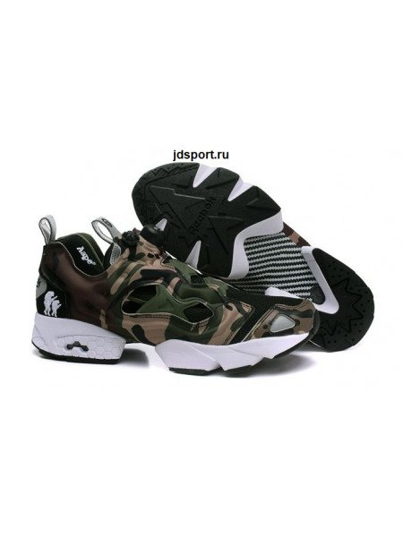 "Reebok Insta Pump Fury ""Camo"" (Brown/White)"