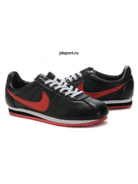 Nike Cortez (Black/Red)