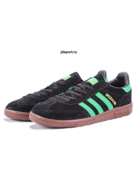 Adidas Spezial (Black/Green)