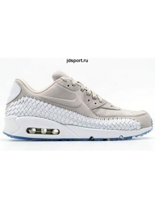 Nike Air Max 90 Woven Light Iron Ore White