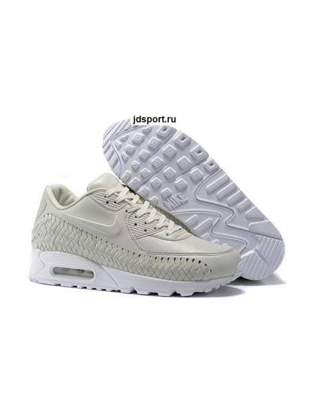 Nike Air Max 90 Woven Phantom White