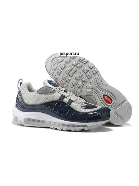Supreme x Nike Air Max 98 «Navy»