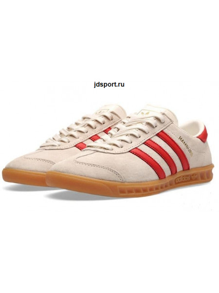 Adidas Hamburg Vienna (white/red)