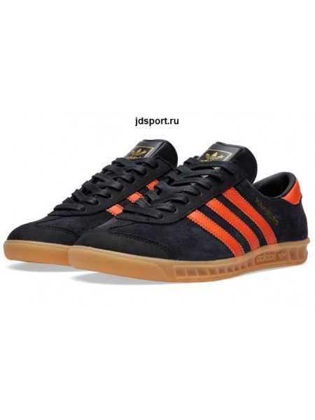 Adidas Hamburg (Black/Orange)