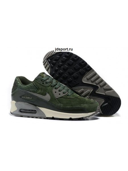 Nike Air Max 90 LTHR (Green/Grey)