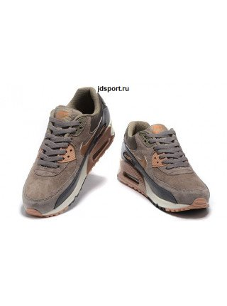 Nike Air Max 90 LTHR (Brown/Grey)