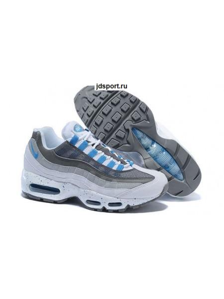 Nike Air Max 95 (Gray/White/Blue)