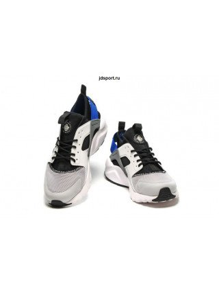 "Nike Air Huarache ""Ultra BR"" (White/Black/Blue)"