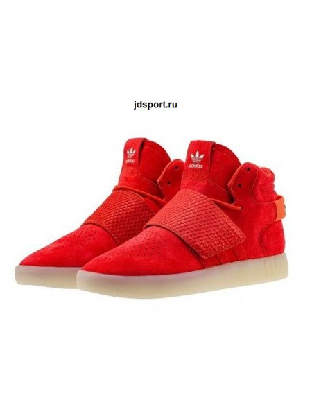 Adidas Tubular Invader Strap (Red)