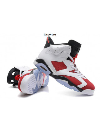 "Air Jordan 6 Retro ""Carmine"" (White/Red/Black)"