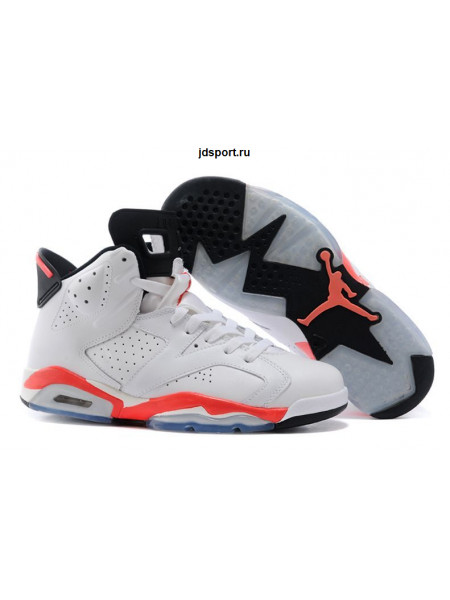 "Air Jordan 6 Retro ""Infrared"" (White/InfraRed)"