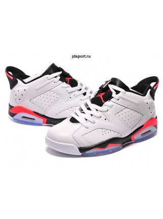 "Air Jordan 6 Retro Low ""Infrared"" (White/InfraRed)"