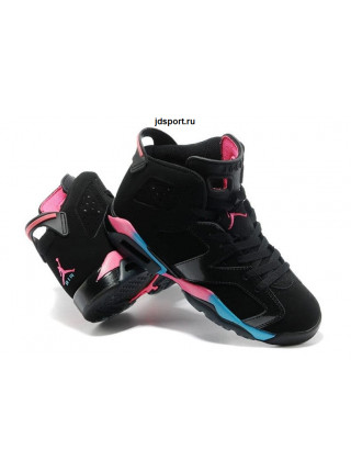 "Air Jordan 6 Retro ""Colorful"" (Black/Colorful)"
