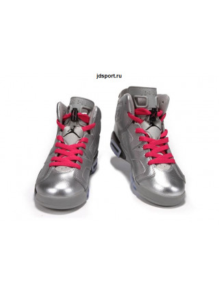 "Air Jordan 6 Retro ""Valentines Day"" (Silver/Pink)"