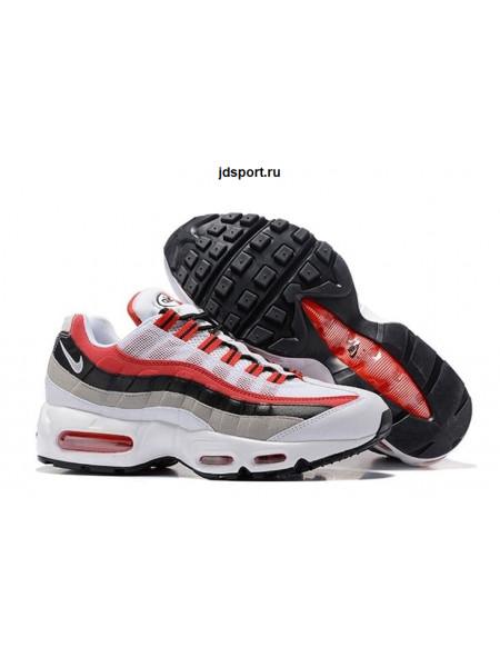 "Nike Air Max 95 ""Essential"" (White/Red/Black)"