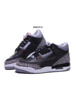 Air Jordan 3 Retro (Black/Grey)