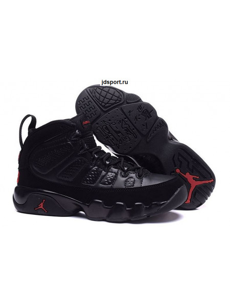 Air Jordan 9 Retro (Black/Red)