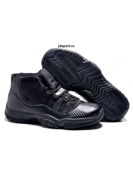 "Air Jordan 11 Retro ""Carbon Fiber"" (all black)"