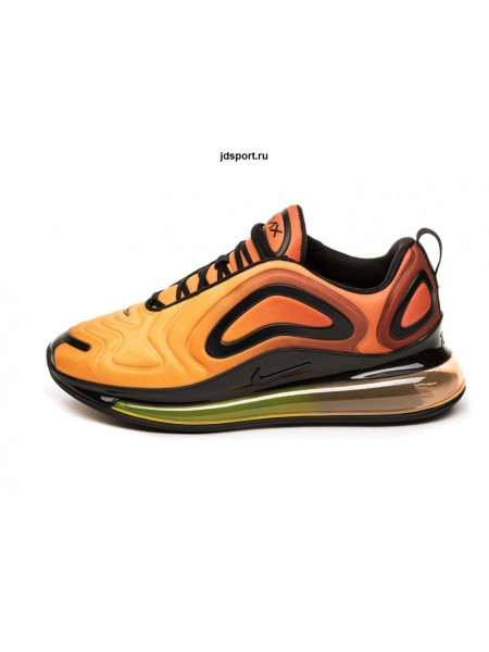Nike Air Max 720 Yellow Orange Brwon