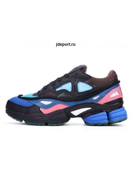 Raf Simons x Adidas Ozweego 2 (Black/Blue/Pink)