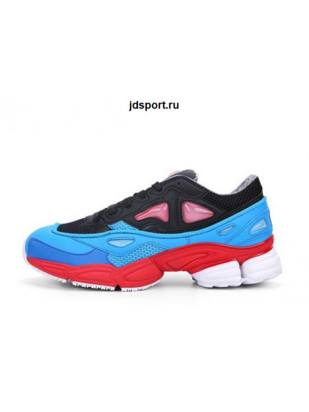 Raf Simons x Adidas Ozweego 2 (Black/Blue/Red)