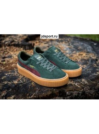 Puma by Rihanna Creeper (Green/Red)