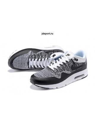 Nike Air Max 1 (87) Ultra Flyknit (Black/Grey/White)