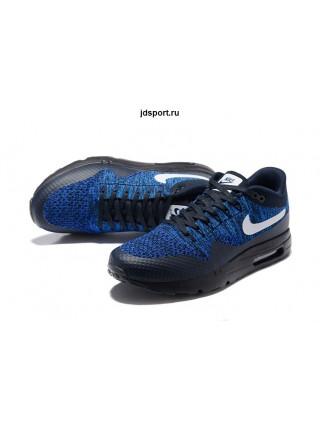 Nike Air Max 1 (87) Ultra Flyknit (Black/Blue)
