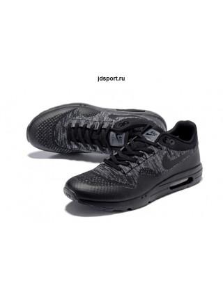 Nike Air Max 1 (87) Ultra Flyknit (Black/Grey)