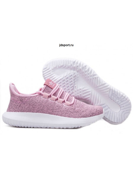 Adidas Tubular Shadow Knit (Coral Haze/White)