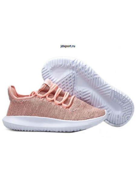 Adidas Tubular Shadow Knit (Peach/White)