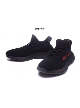 Adidas Yeezy Boost 350 V2 (Core Black/Red)