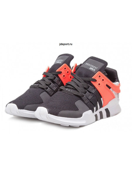 "Adidas EQT Support ""ADV"" (Black/Turbo Red)"