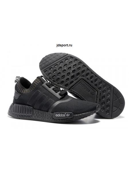 Adidas NMD R1 Primeknit (Triple Black)