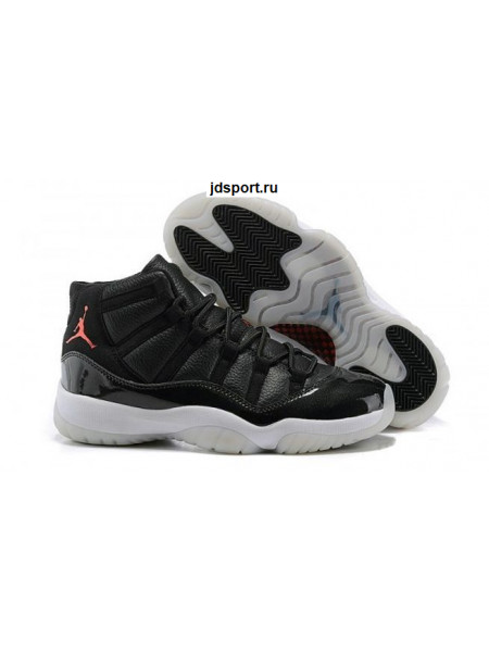 "Air Jordan 11 Retro ""72 10"" (black/white/red)"
