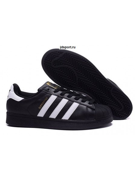 Adidas Superstar (Core Black/White)