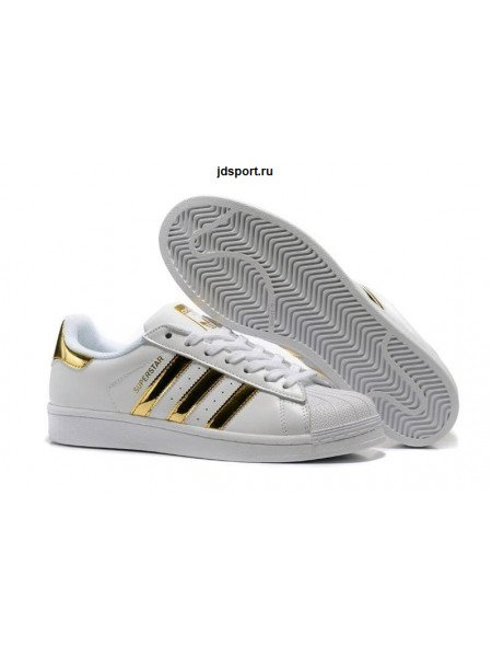 Adidas Superstar (Vintage White/Gold)